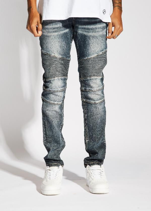 Skywalker Biker Denim (Blue Stone)