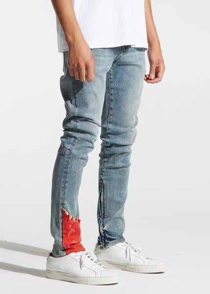Pacific Denim (Indigo Red Bandana)