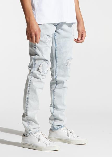 Atlantic Denim (Light Distressed Indigo)
