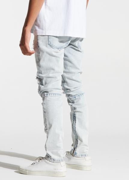 Pacific Denim (Light Distressed Indigo)