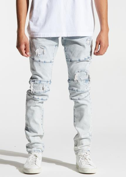 Montana Denim (Light Distressed Indigo)