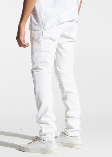 Francesco Denim (White)