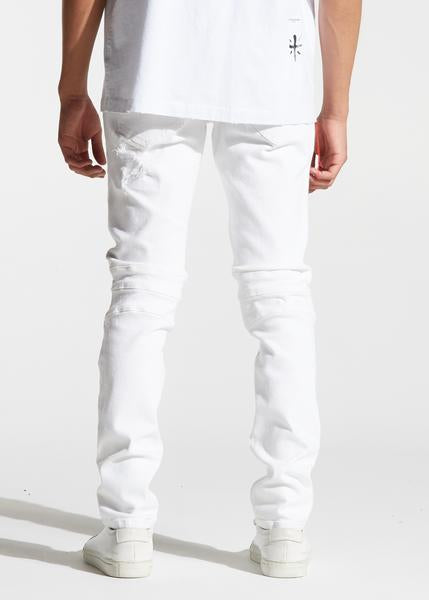 Skywalker Biker Denim (White)