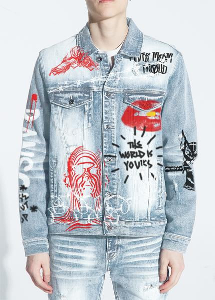 Bering Denim Jacket (Indigo Written)