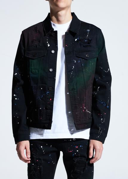Bering Denim Jacket (Black Paint)
