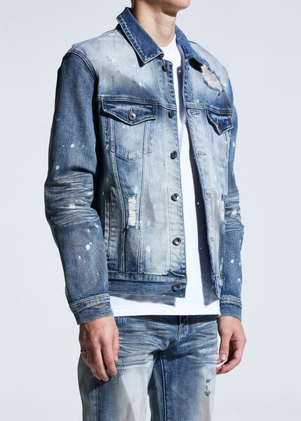 Bering Denim Jacket (Dirty Indigo)