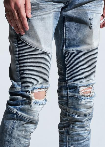 Skywalker Biker Denim (Dirty Indigo)