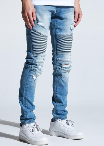 Skywalker Biker Denim (Light Wash)