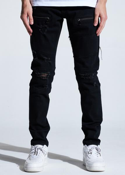 Bank Denim (Black Distressed)
