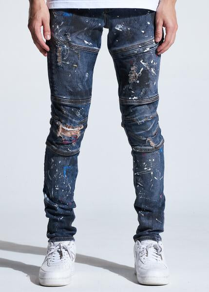 Kurt Denim (Indigo Paint)