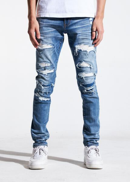 Atlantic Denim (Indigo Distressed)