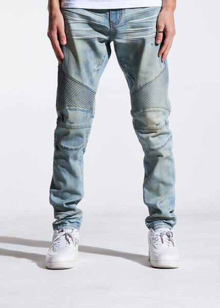 Skywalker Biker Denim (Venice Blue Green)
