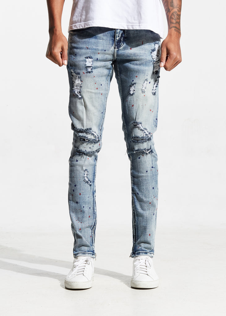 Pacific Denim (Paint Speckle)