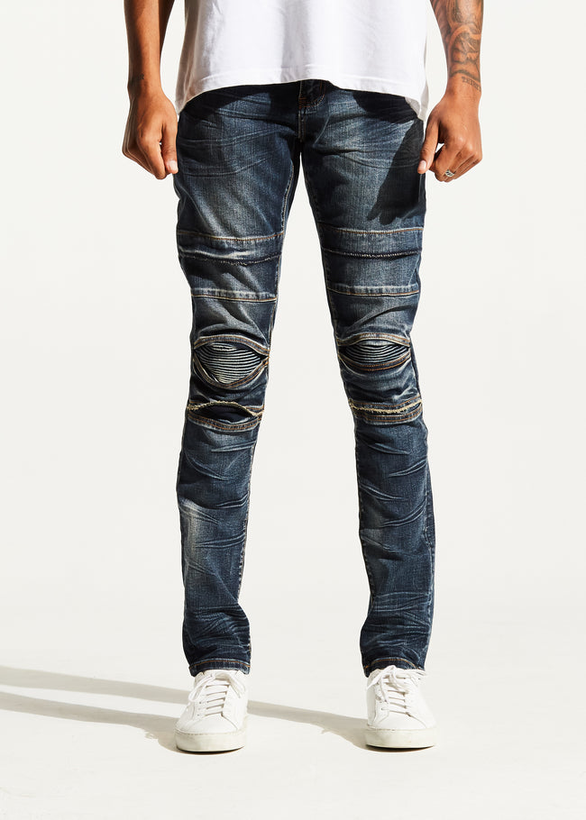 Ali Denim (Deep Indigo)