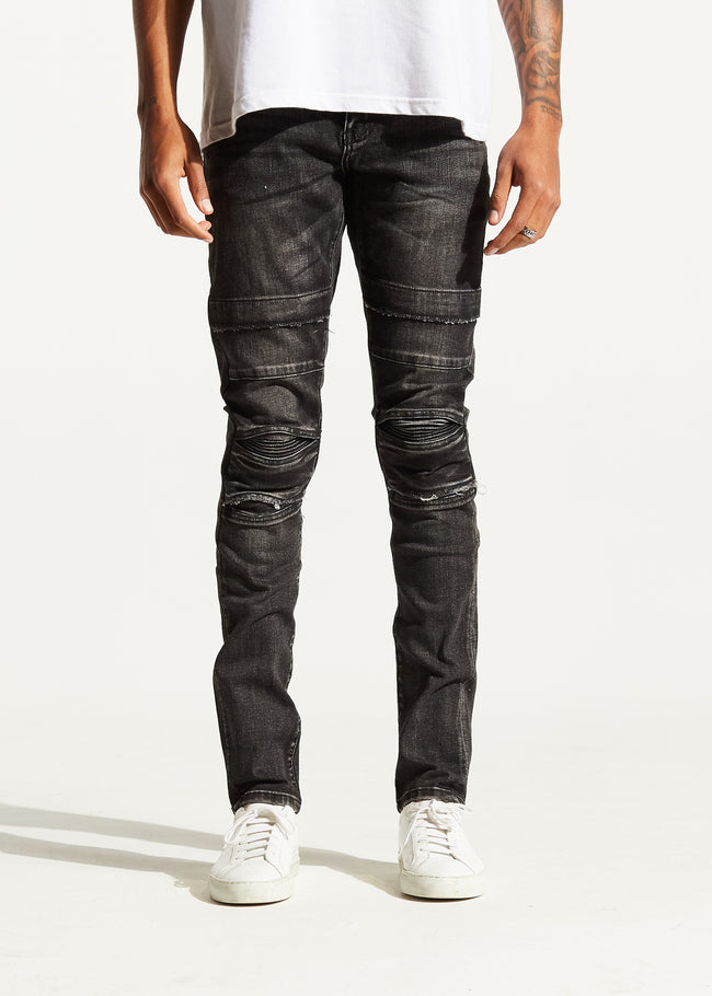 Ali Denim (Dark Charcoal)