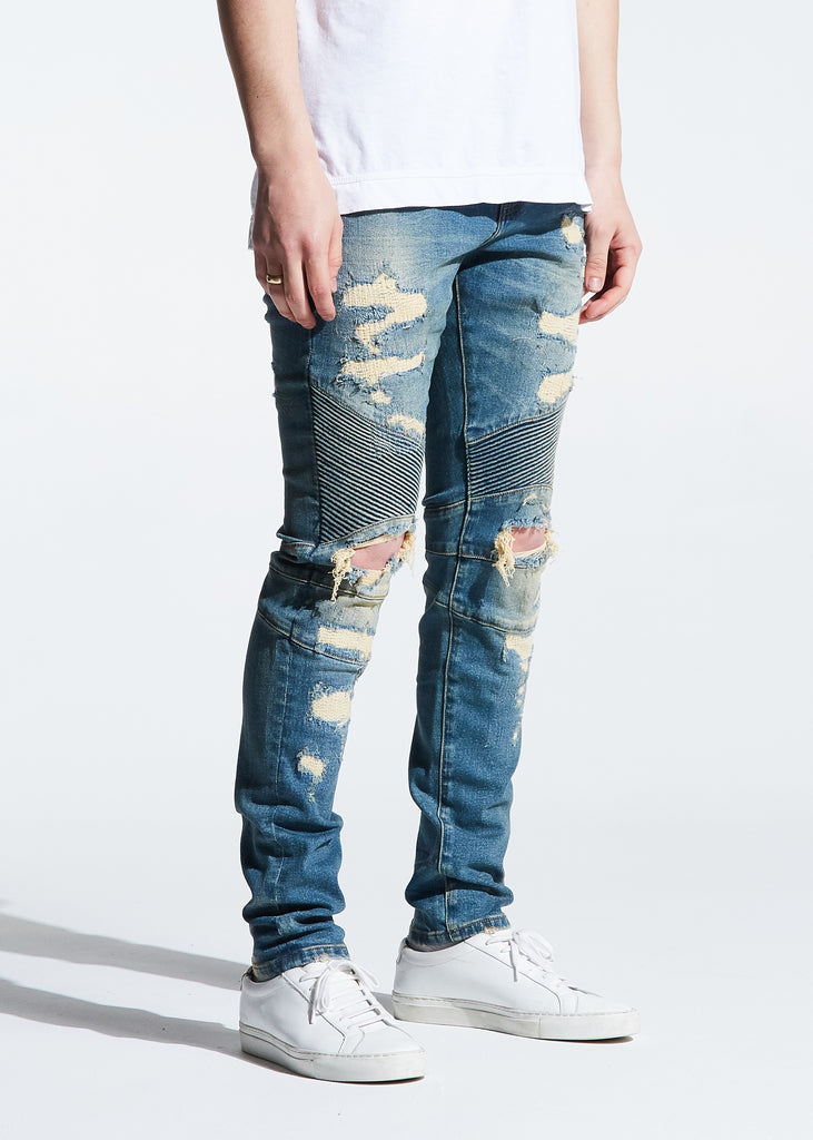 Skywalker Biker Denim (Vintage Wash)