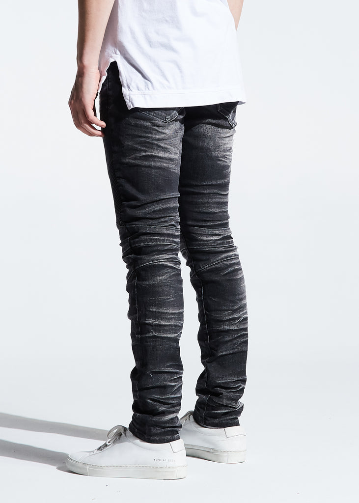 Skywalker Biker Denim (Black Acid)