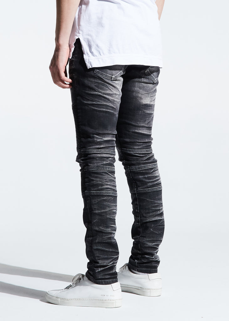 Bron Denim (Black Acid)