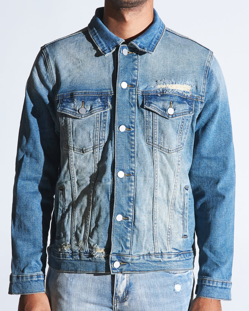 Bering Denim Jacket (Vintage Wash)