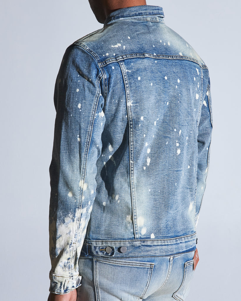 Bering Denim Jacket (Indigo Paint)