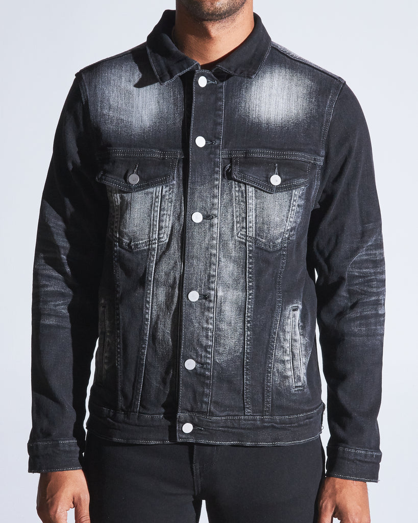 Bering Denim Jacket (Black Acid)