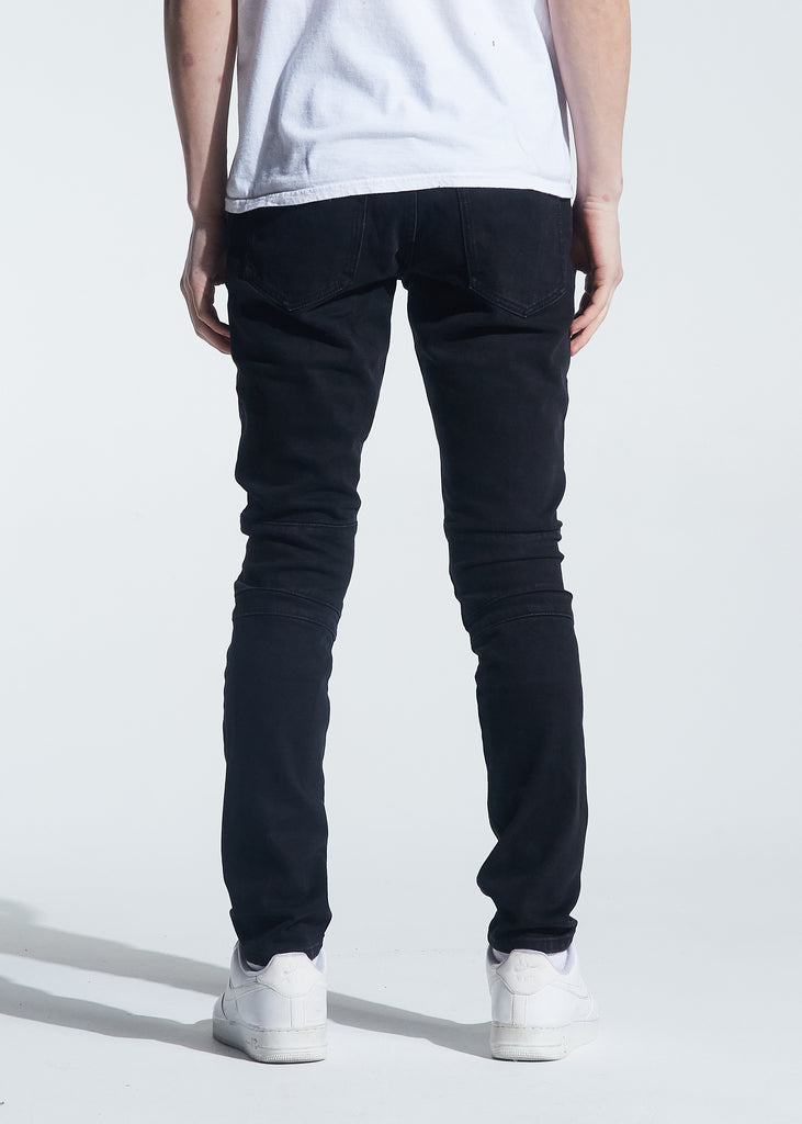Hudson Denim (Black Distressed)