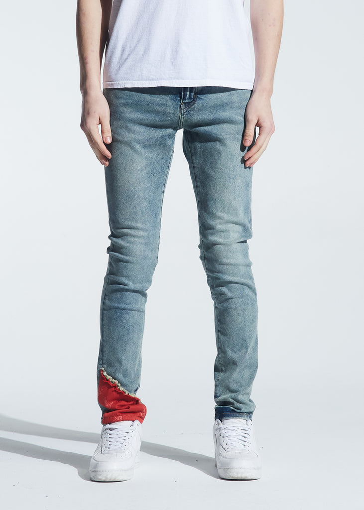 Atlantic Denim (Indigo Red Bandana)