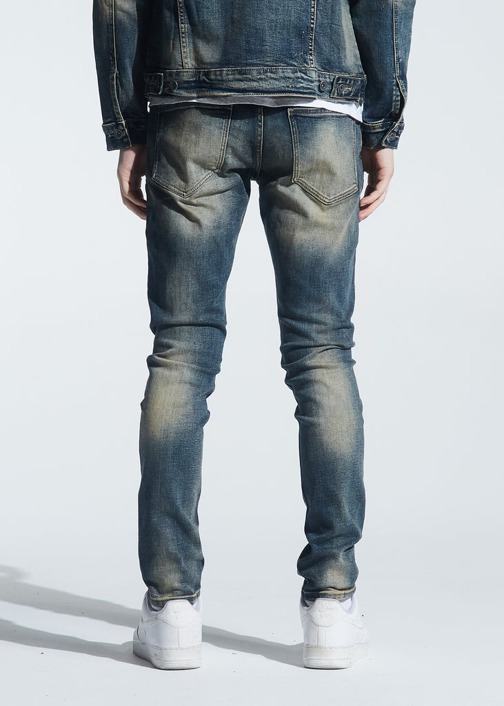Atlantic Denim (Indigo Dirty Wash)