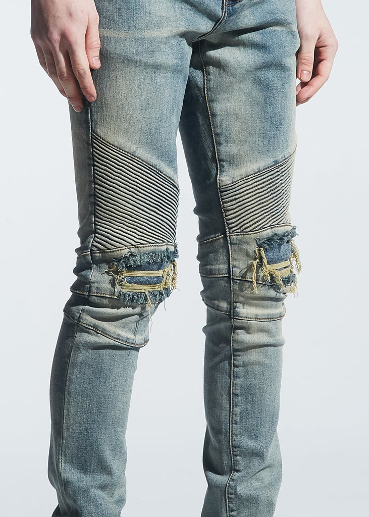 Skywalker Biker Denim (Light Vintage)