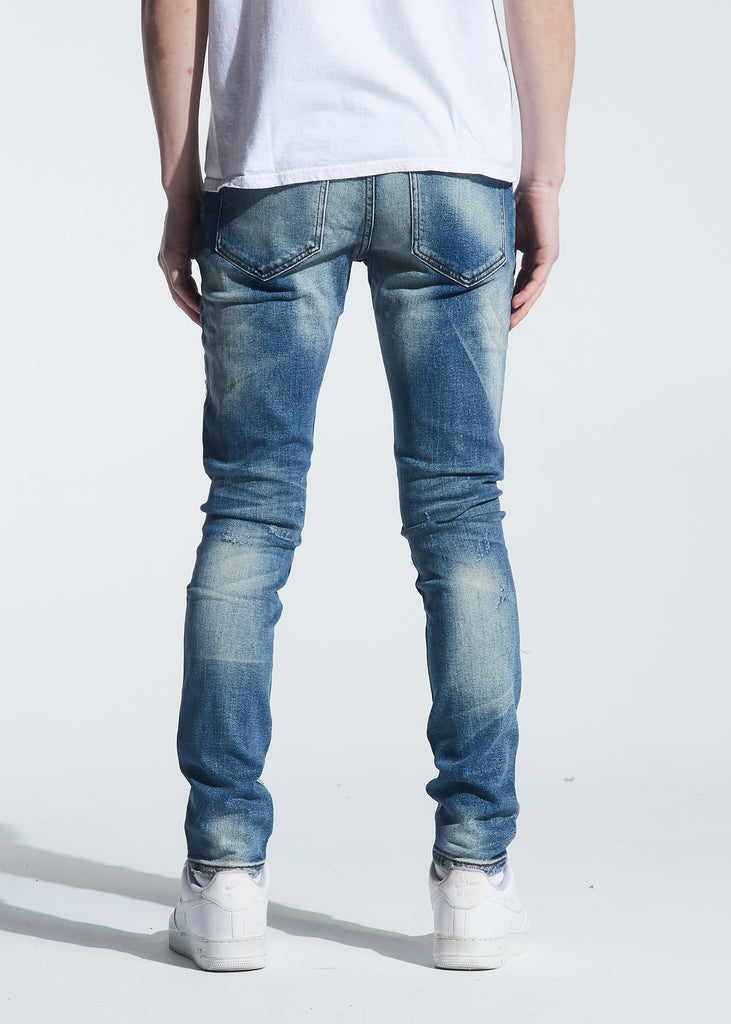 Pacific Denim (Distressed Indigo Wash)