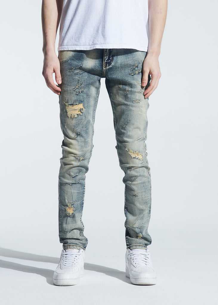 Pacific Denim (Distressed Light Vintage Wash)