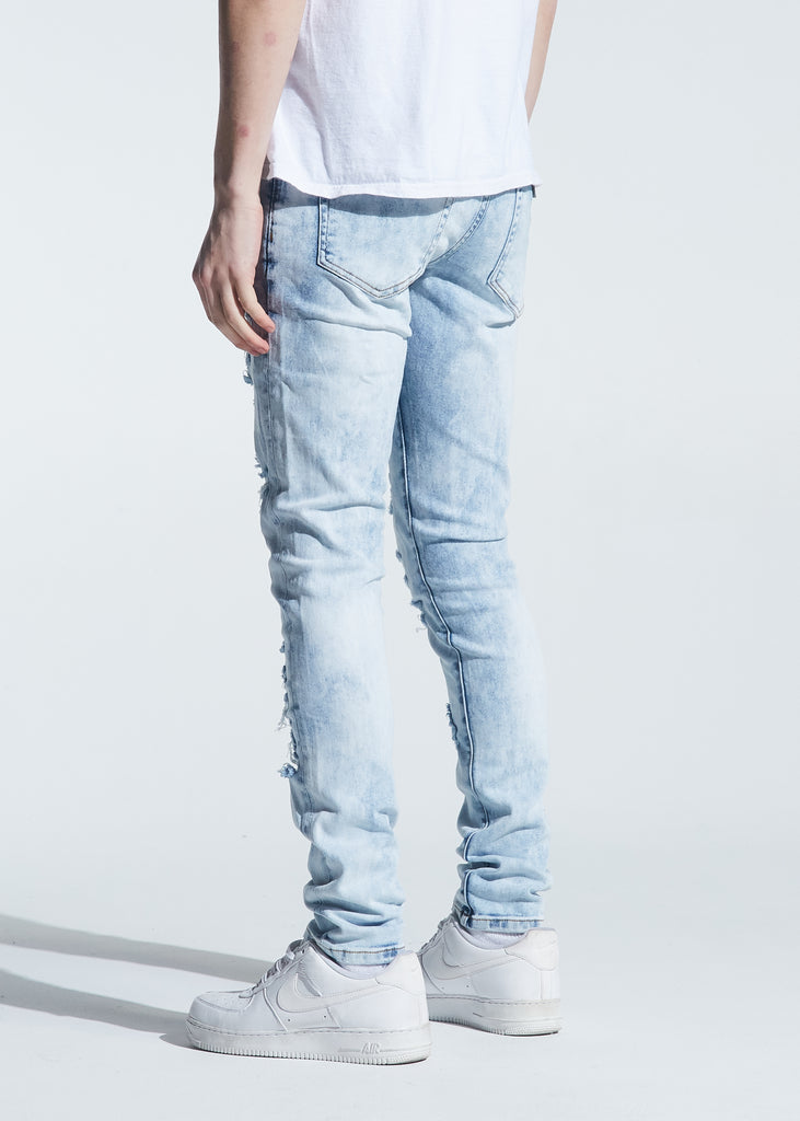 Pacific Denim (Distressed Light Indigo)