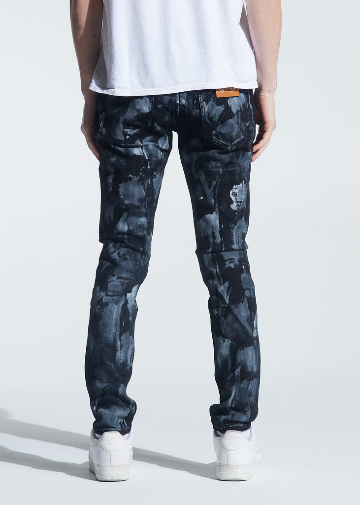 Pacific Denim (Black Grey Paint)