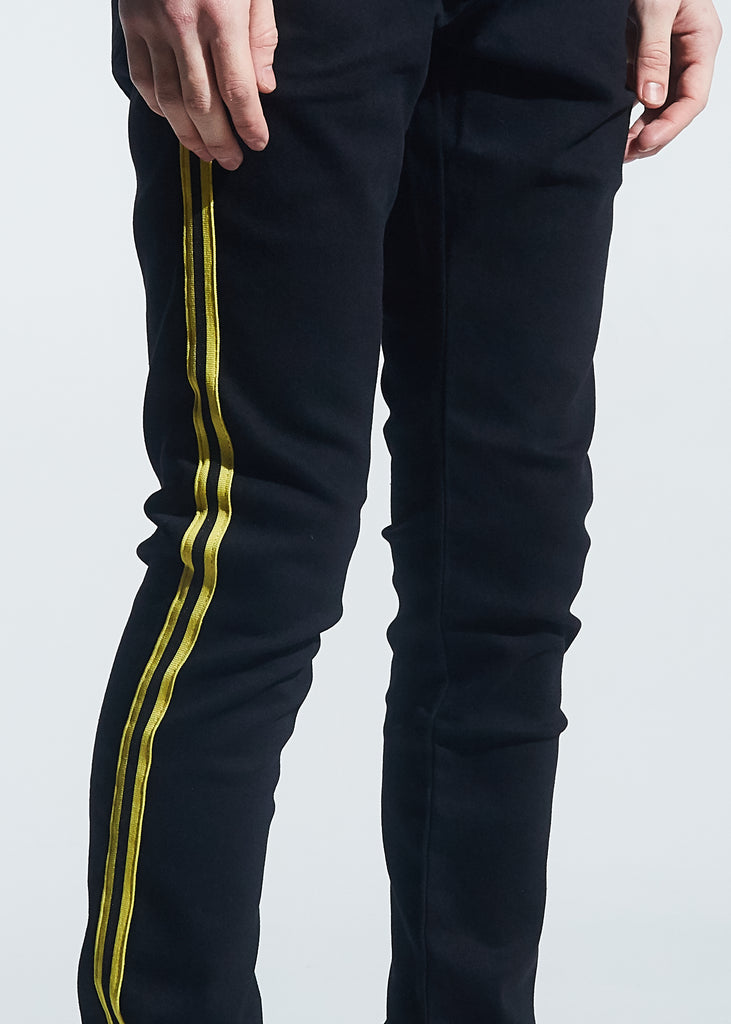 Manuel Denim (Black Yellow Taping)