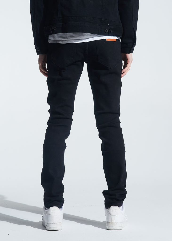 Nowell Painted Denim (Black Painted)