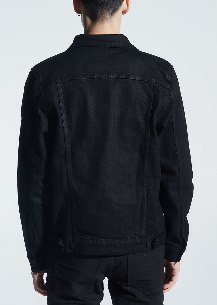 Bering Denim Jacket (Black)