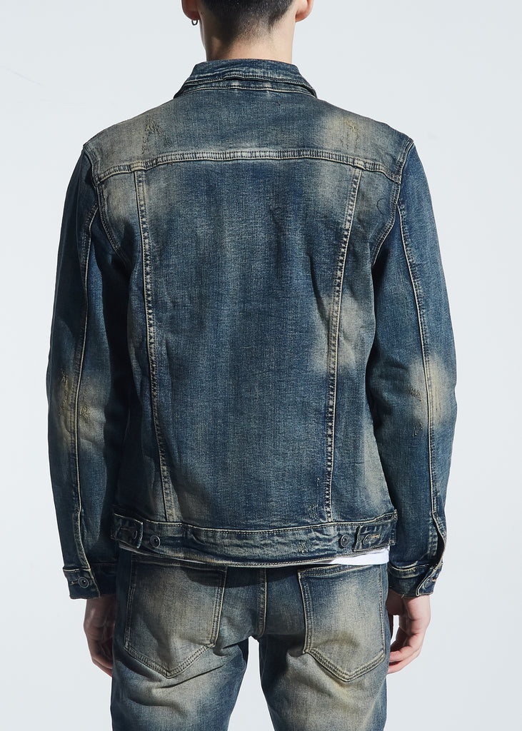 Bering Denim Jacket (Indigo Dirty Wash)