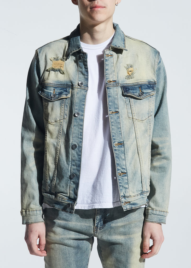 Bering Denim Jacket (Light Vintage)