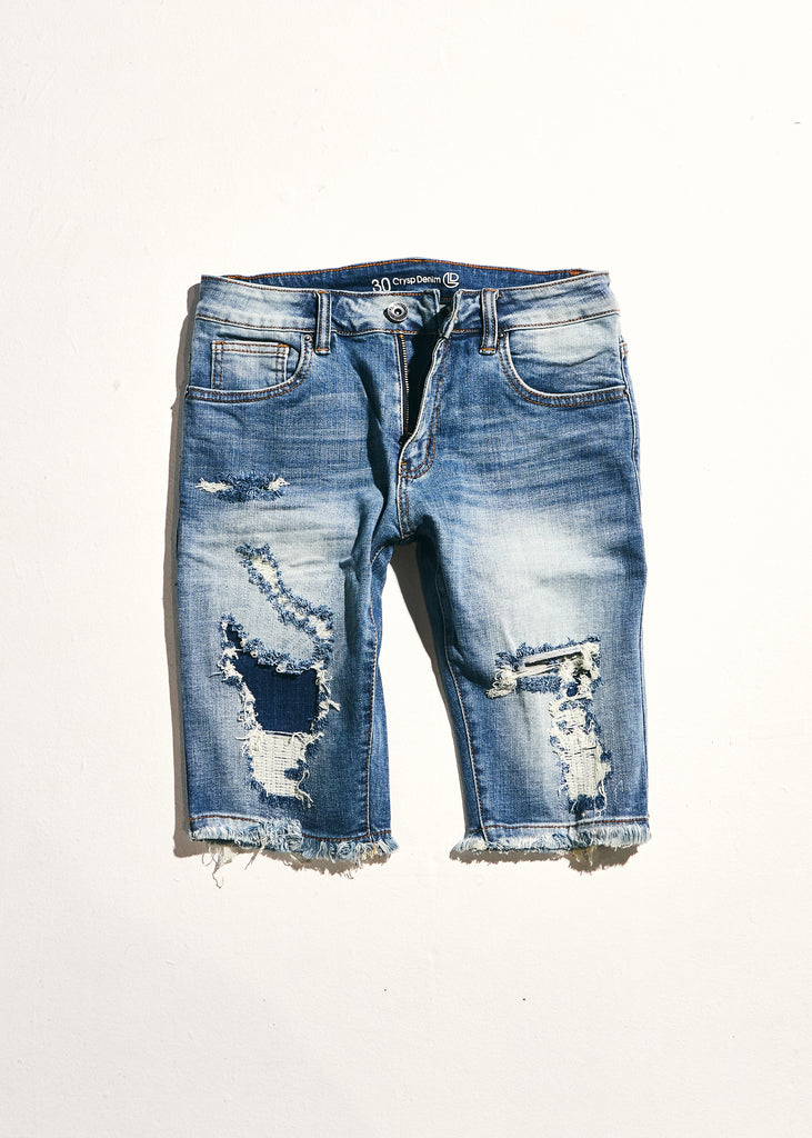 Philips Shorts (Indigo Distressed)