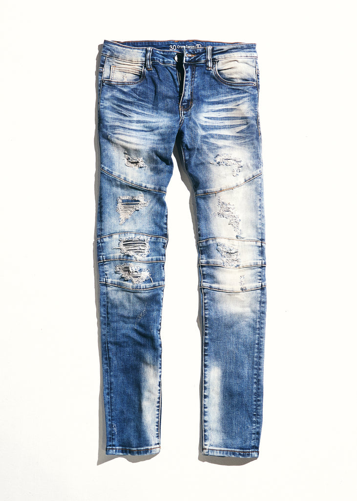 Montana Denim (Indigo Distressed)