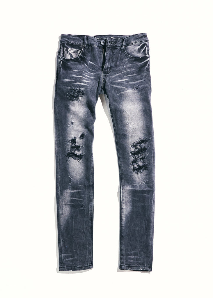 Atlantic Denim (Grey Distressed)