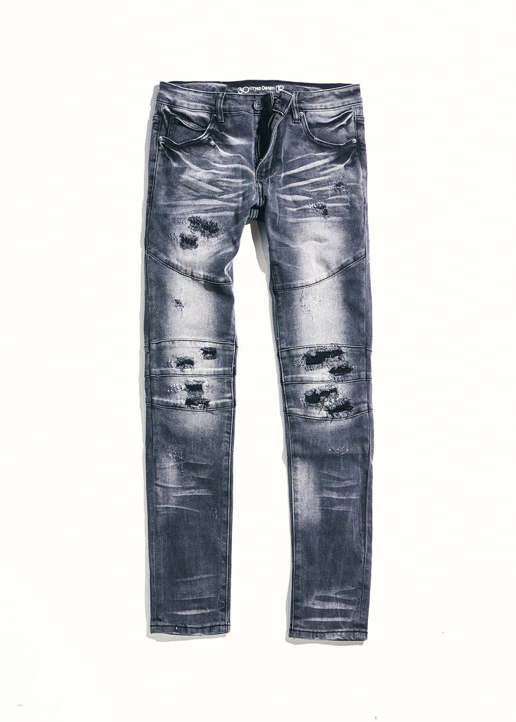 Montana Denim (Grey Distressed)