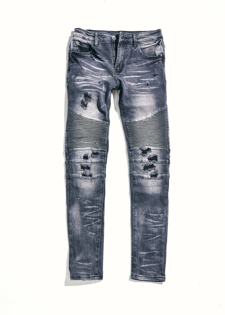 Skywalker Denim (Grey Distressed)