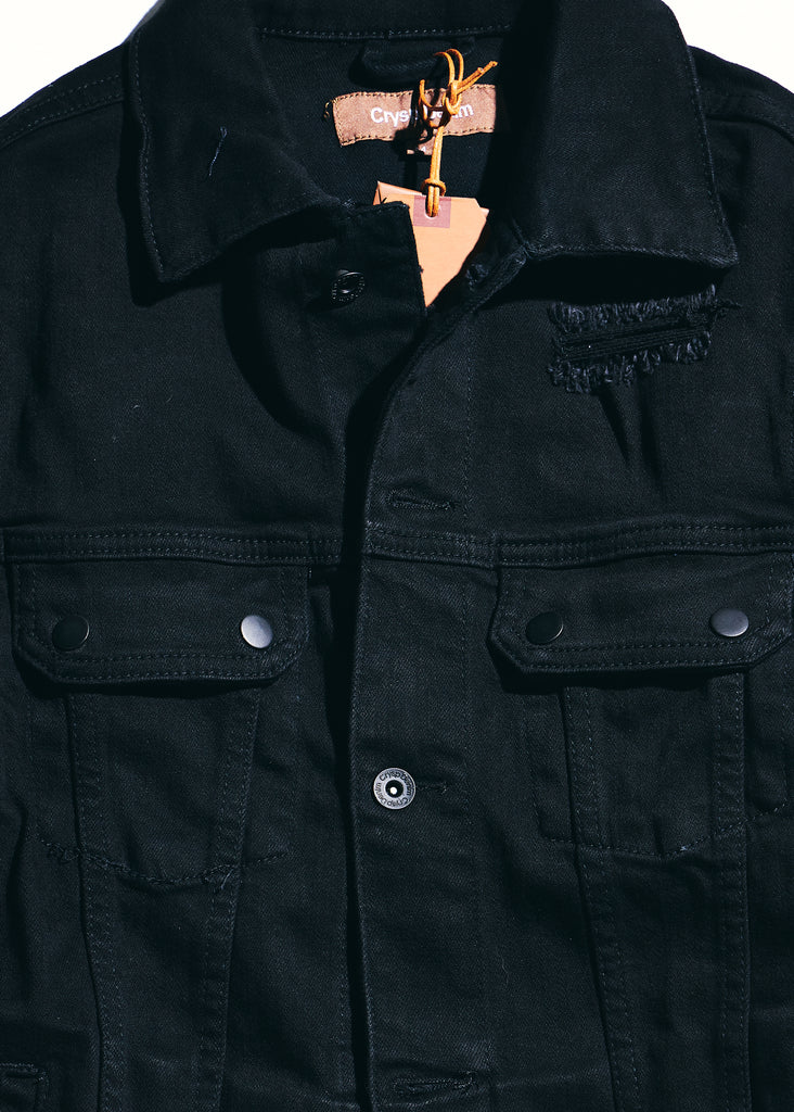 Davis Denim Jacket (Black)