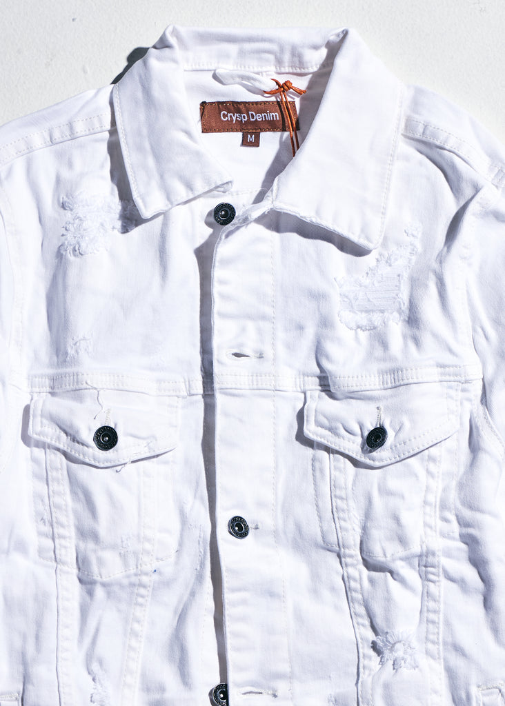 Bering Denim Jacket (White)