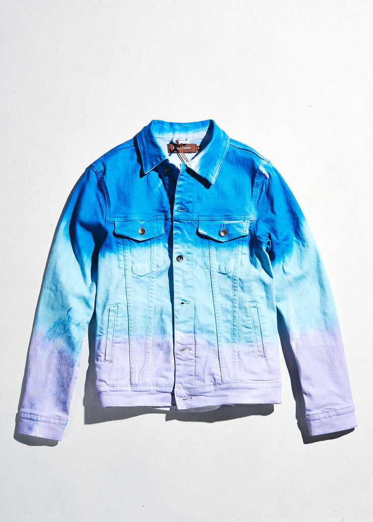 Bering Denim Jacket (Purple Blue Fade)