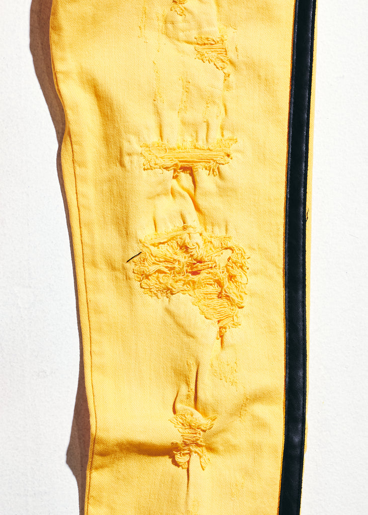 Line Denim (Yellow/Black)