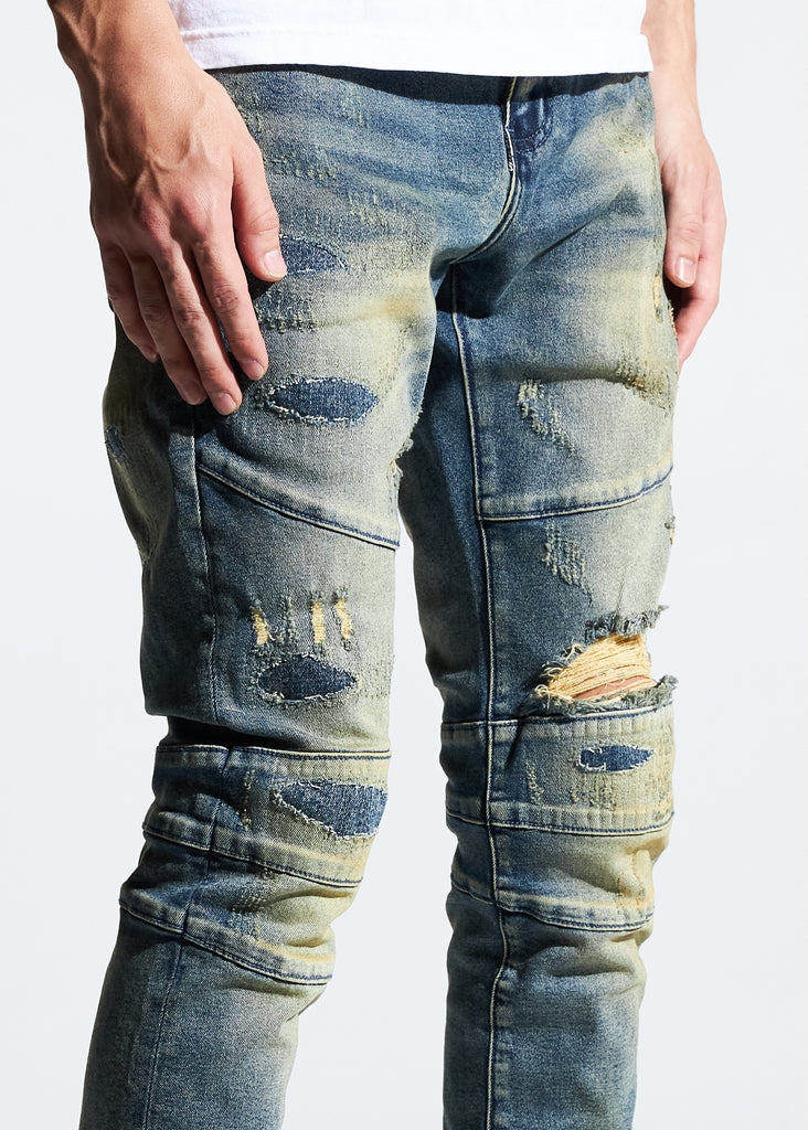 Montana Denim (Light Sand Wash)