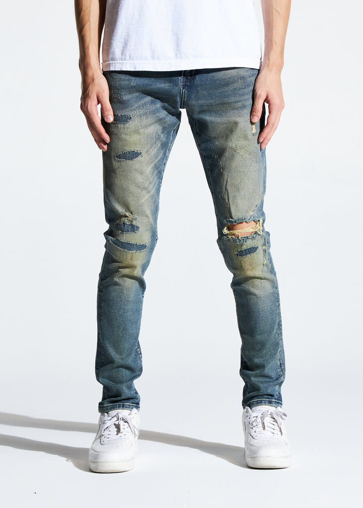 Atlantic Denim (Light Sand Wash)