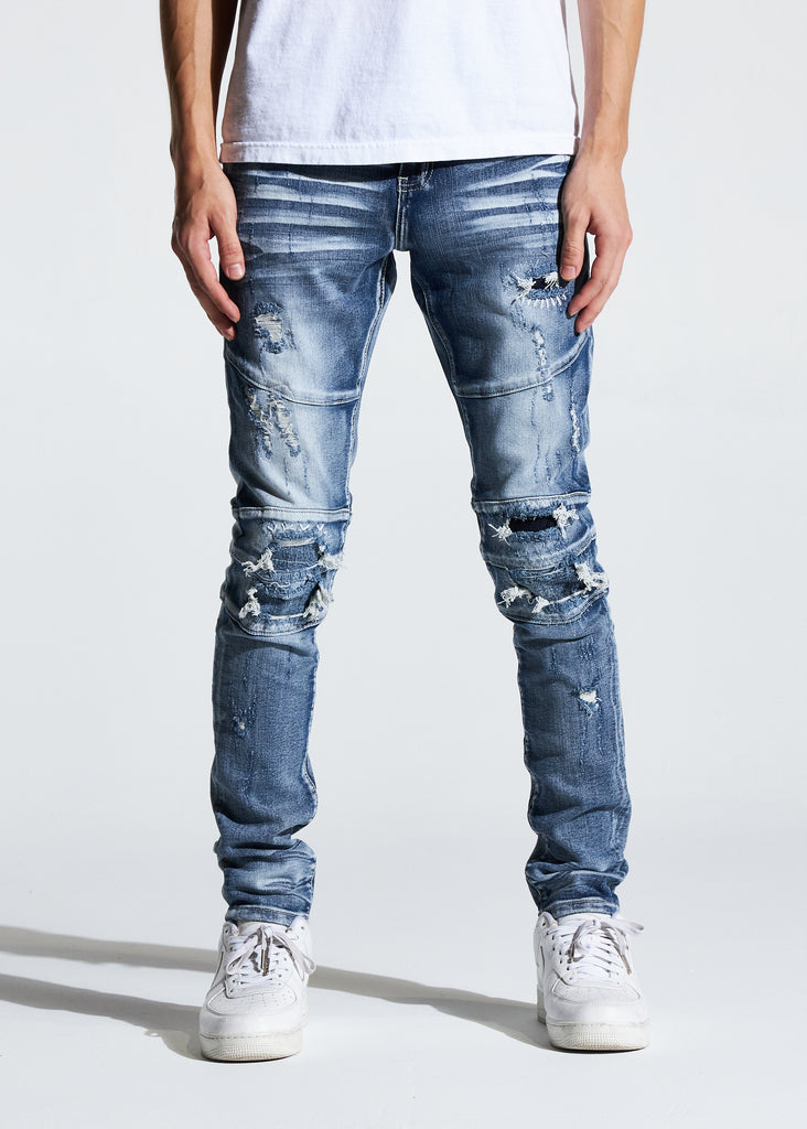 Montana Denim (Bleach Indigo)